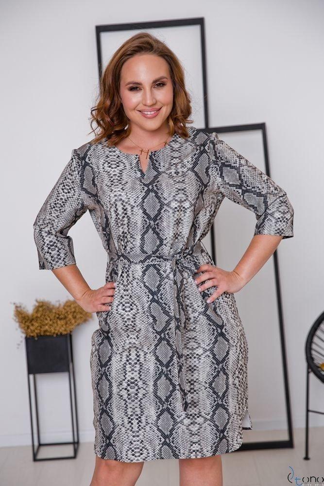 Sukienka LAVAL Plus Size Wzór 2