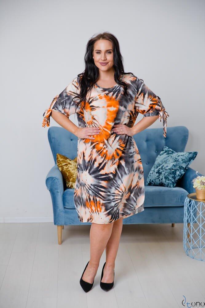 Sukienka MASITA Plus Size Wzór 4