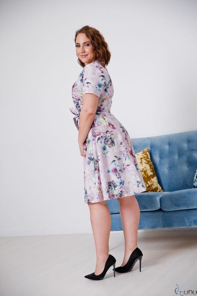 Sukienka ROSITA Plus Size Wzór 21