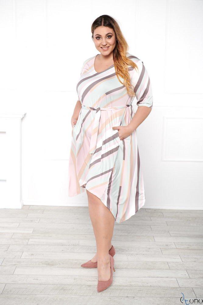 Sukienka SORTEA Plus Size Wzór 2