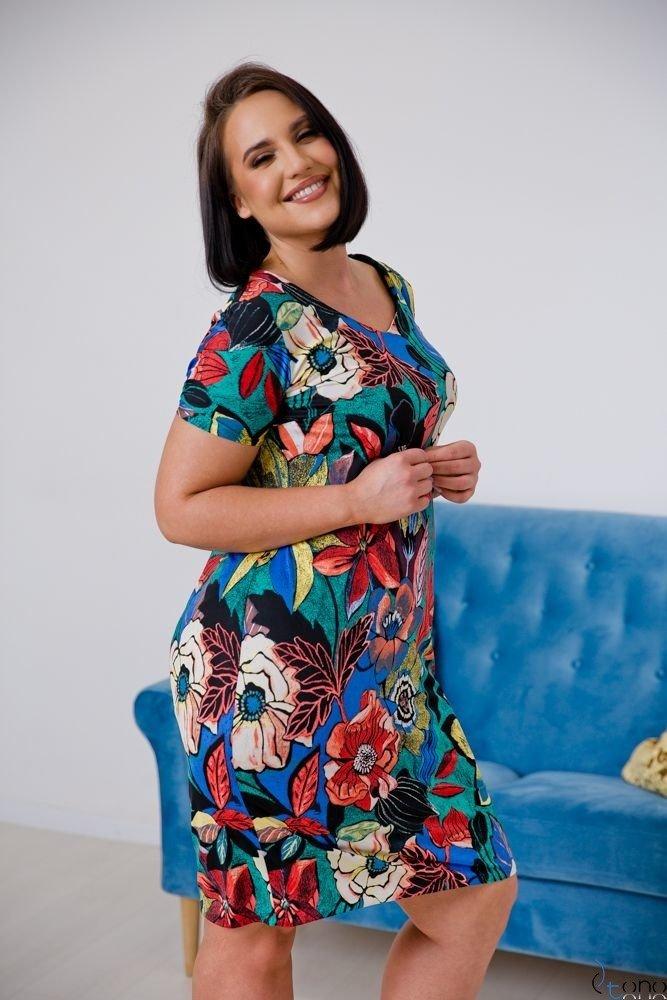 Sukienka STAMPINA Plus Size Wzór 14