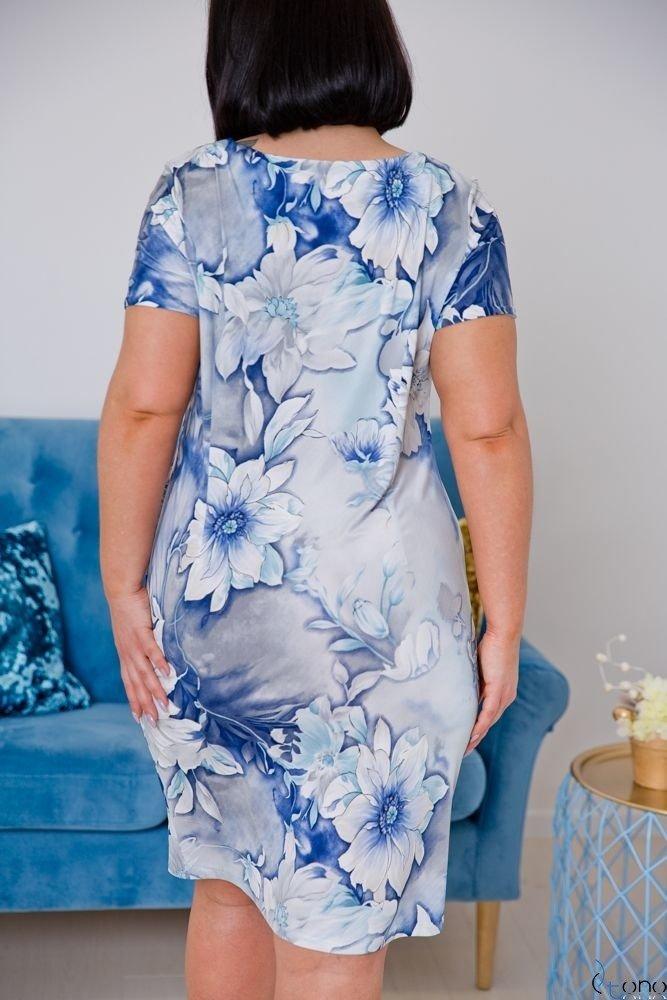 Sukienka STAMPINA Plus Size Wzór 17