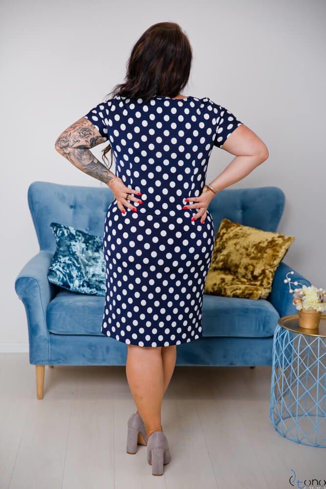 Sukienka STAMPINA Plus Size Wzór 6