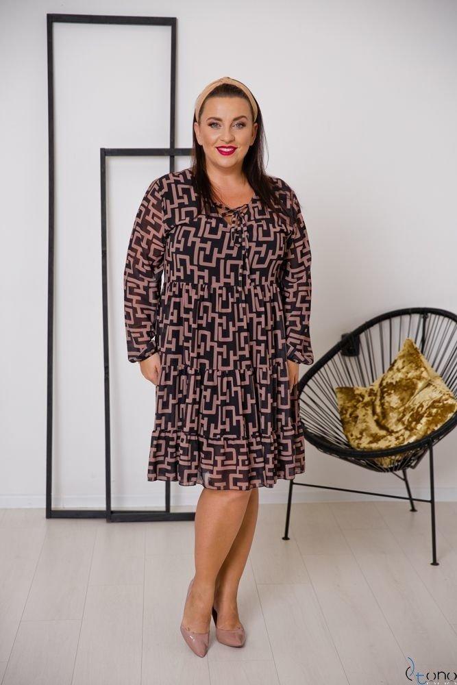 Sukienka STESSA Plus Size Wzór 3