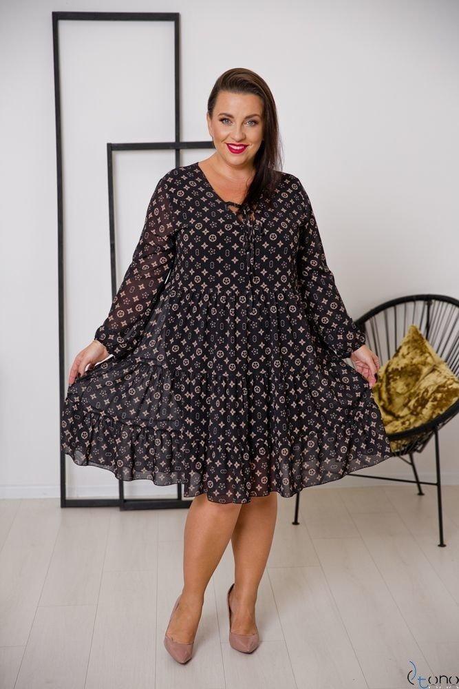 Sukienka STESSA Plus Size Wzór 5