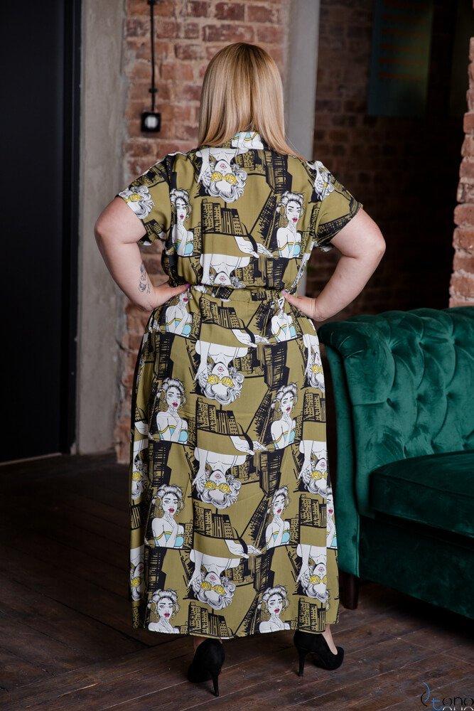 Sukienka TEBEO Plus Size Wzór 2