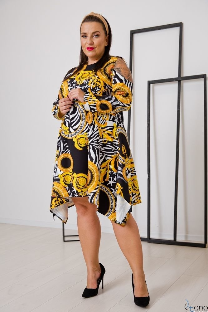 Sukienka VIRAGO Plus Size Wzór 2