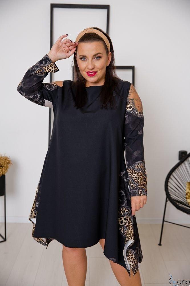Sukienka VIRAGO Plus Size Wzór 3