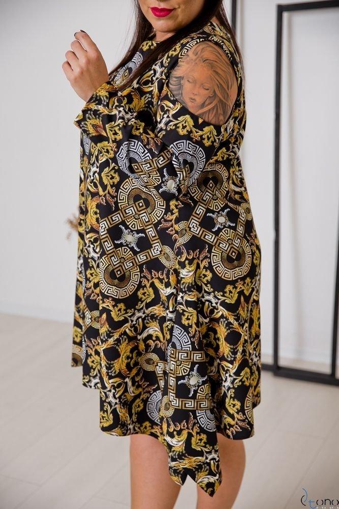 Sukienka VIRAGO Plus Size Wzór 4