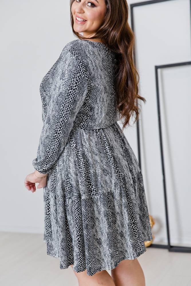 Sukienka XENA Plus Size Wzór 2