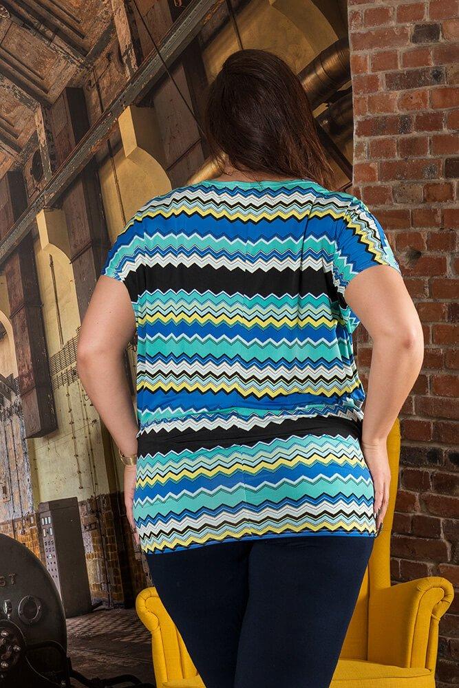 Bluzka AMELIA Plus Size wzór 1
