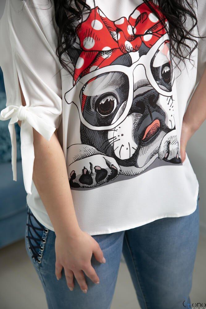 Bluzka BACCI Plus Size Wzór 2