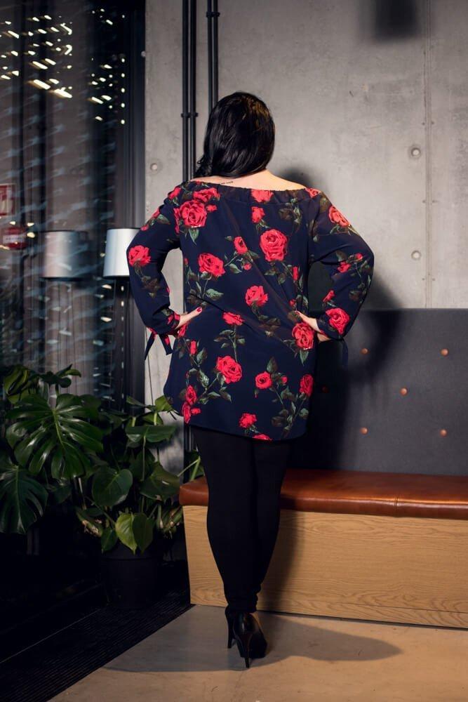 Bluzka damska LOFT Hiszpanka Plus Size