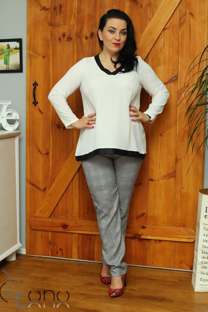 Bluzka damska rozkloszowana Katja Size Plus