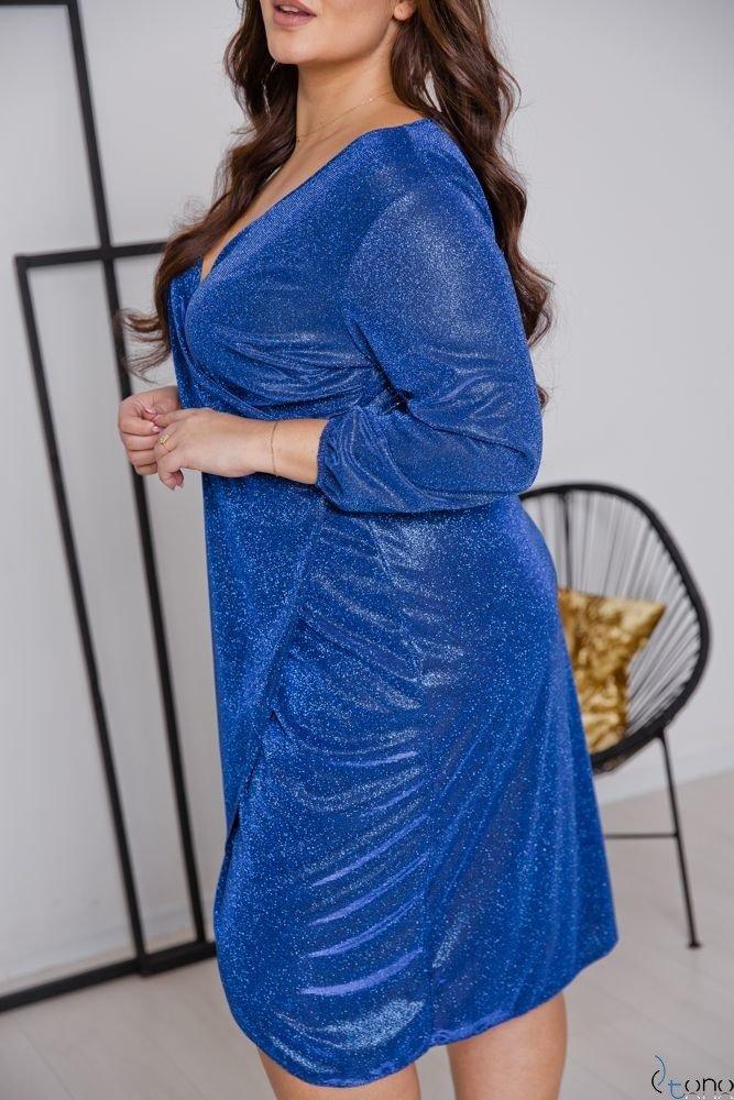 Chabrowa Sukienka MENDY Plus Size