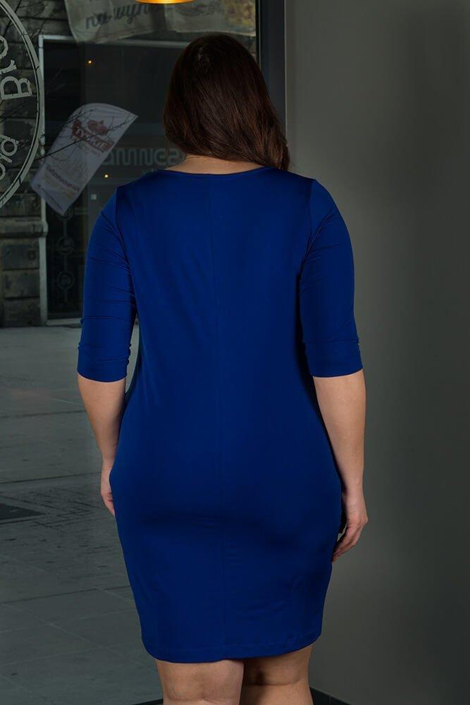 Chabrowa Sukienka RAISA-M Plus Size