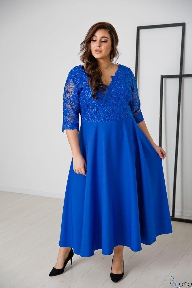 Chabrowa Sukienka SAFYANA Plus Size