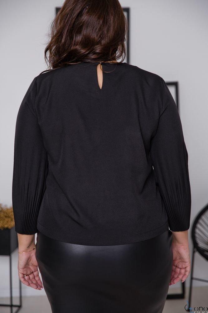 Czarna Bluzka YULIEN Plus Size
