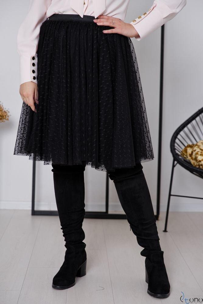 Czarna Spódnica OVER Plus Size