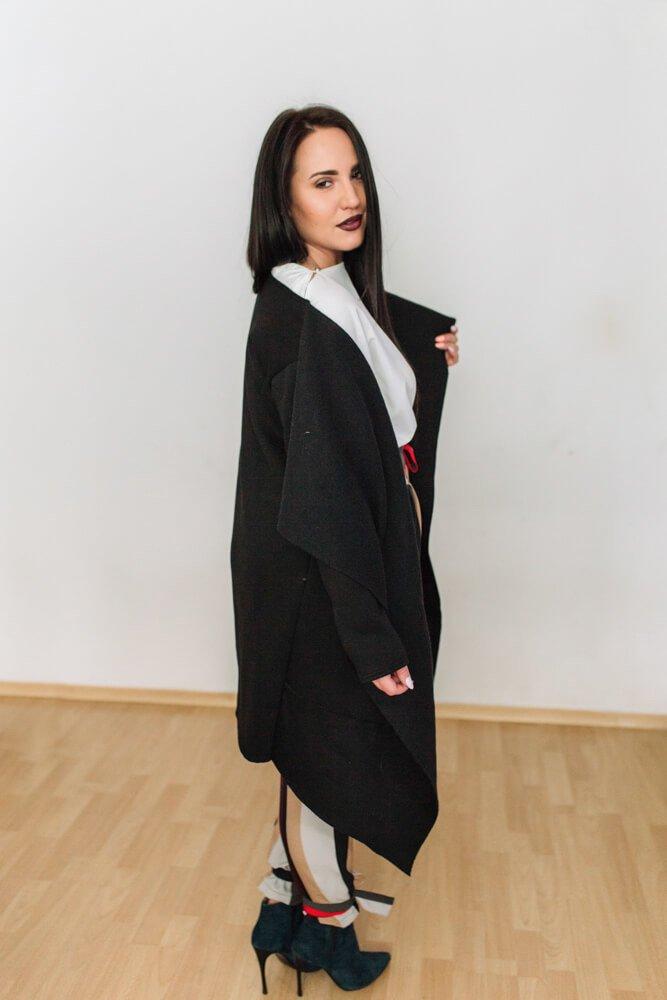 Czarny Kardigan DARK Plus Size