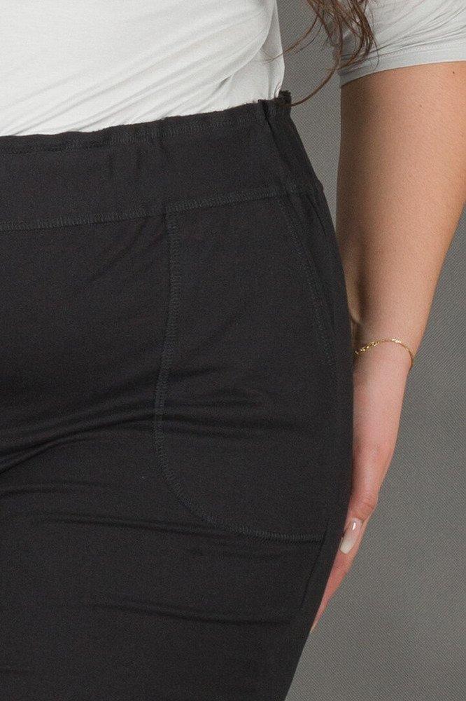Czrna Spódnica SHINE Dresowa Plus Size