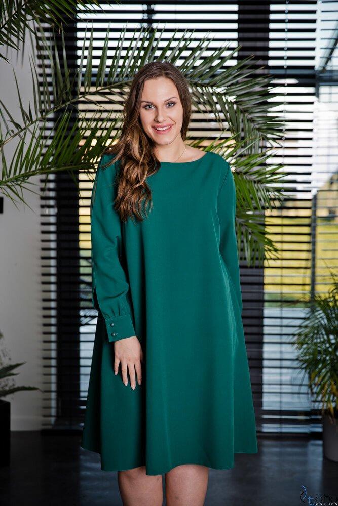Zielona Sukienka LABEL Plus Size