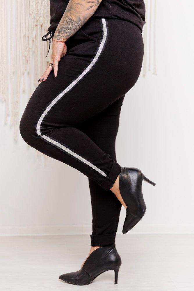 Spodnie dresowe FOURTY Plus Size wzór 2