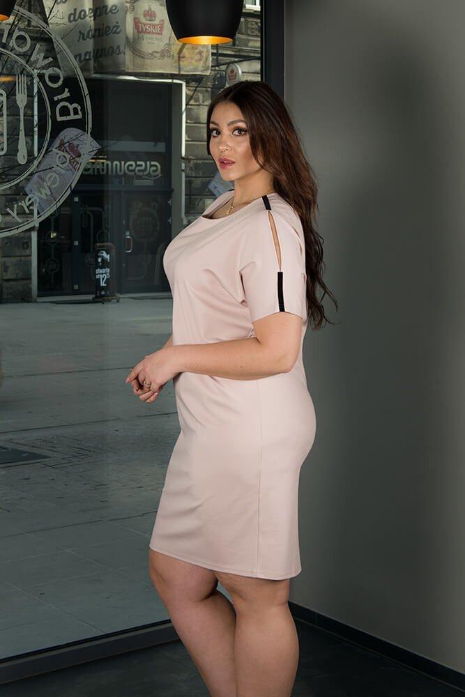 Sukienka ANASTAZJA duże rozmiary