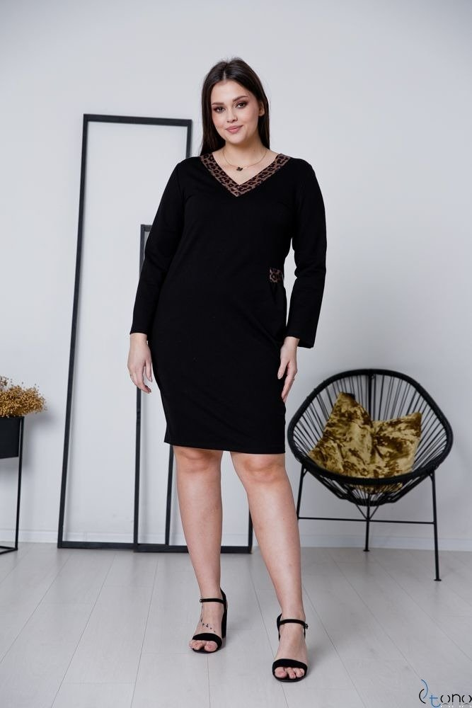 Sukienka ARYA Plus Size Wzór 2
