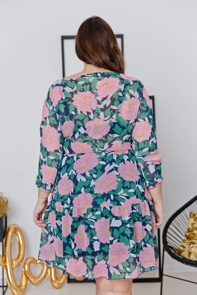 Sukienka ASPYN Plus Size Wzór 1