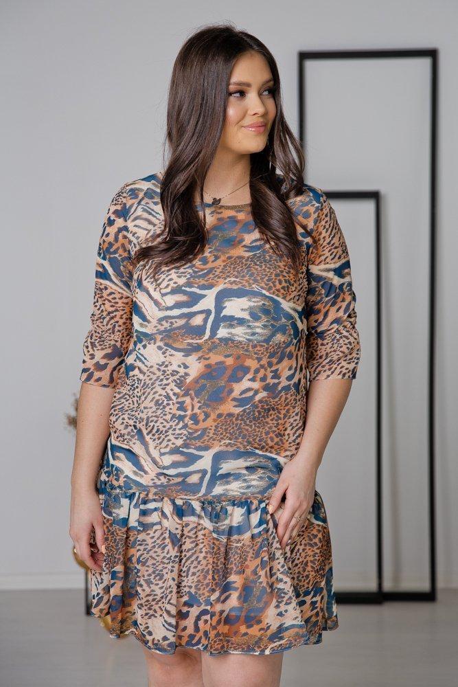 Sukienka ESTI Plus Size Wzór 12