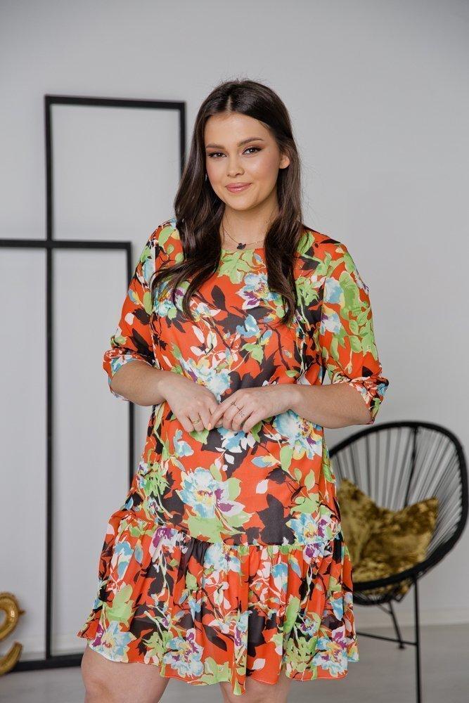 Sukienka ESTI Plus Size Wzór 22