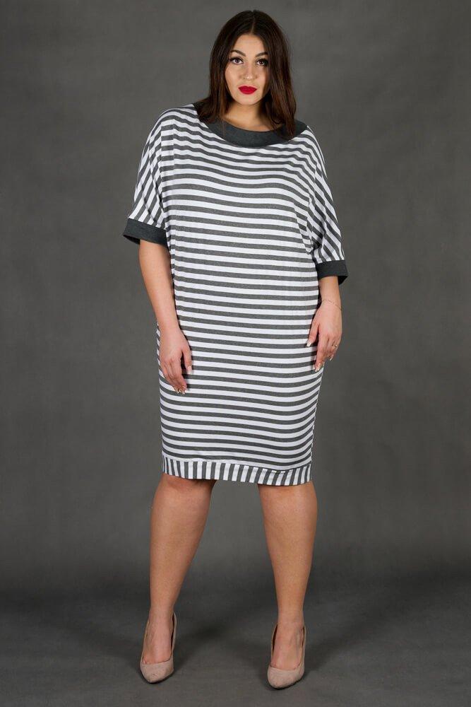 Sukienka FIUME Plus Size Pasy