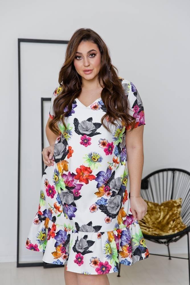 Sukienka FLAMENCA Plus Size Wzór 2