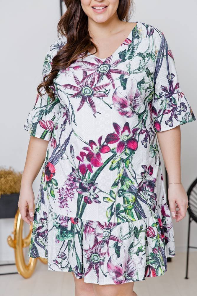 Sukienka HOLI Plus Size Wzór 4