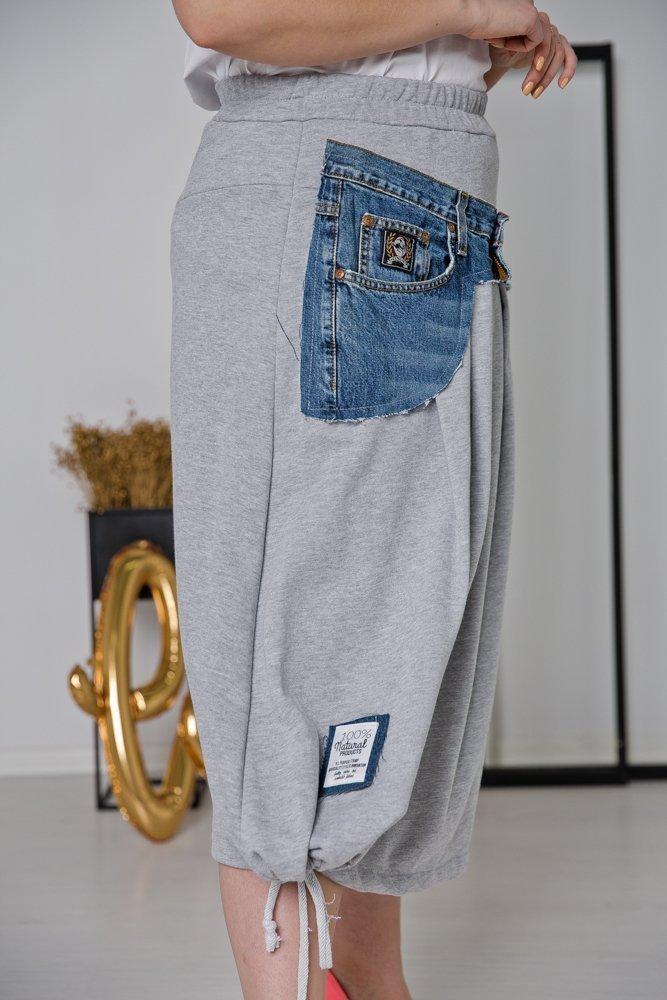 Szara Spódnica GINZA Plus Size