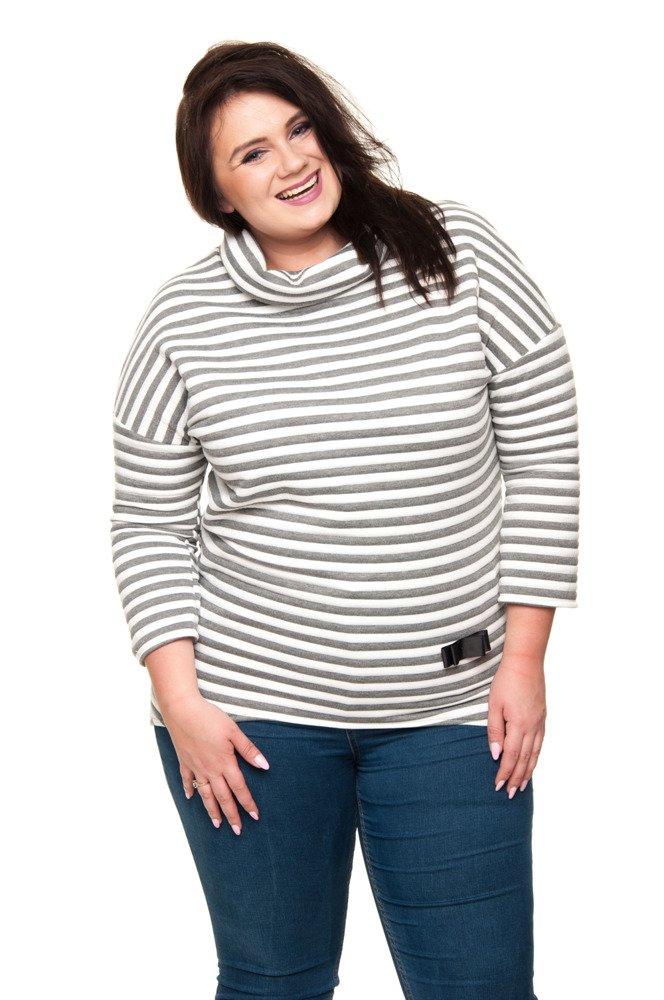 Tunika JOLY Paski Plus Size Modna