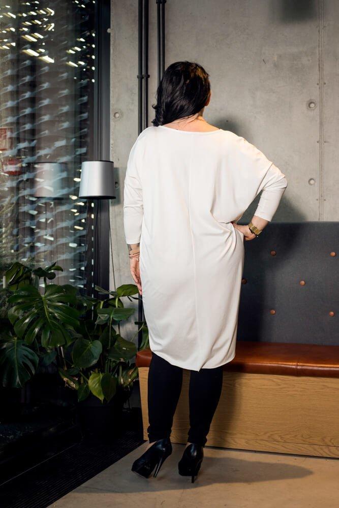 Tunika damska LIPS Aplikacja Plus Size wzór 3