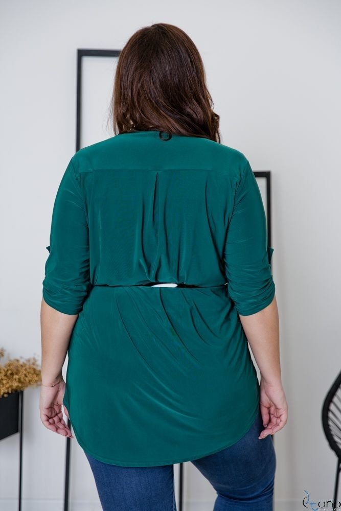 Zielona Tunika REGIA Plus Size