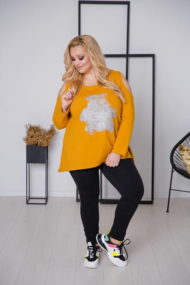 Żółta Tunika WHEY Plus Size
